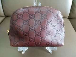 AUTH. GUCCI POUCH