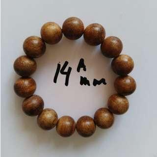 [WHOLESALE] 14mm Gaharu/Agarwood/沉香/Eaglewood Bracelet
