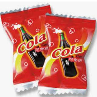 可樂糖 糖果 100g