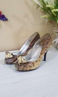 Jill Stuart leather heels New AUTHENTIC!!!