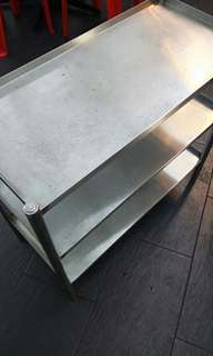 [Clearance] - 3 Layers Stainless Steel Rack