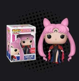 FUNKO POP - SAILOR MOON - BLACK LADY - 2018 SUMMER CONVENTION EXCLUSIVE