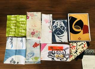 Japanese Tenugui (cotton towels)