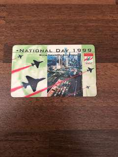 Singapore National Day Phone card