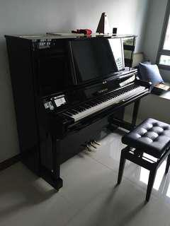 Yamaha Yus5 Upright grand piano