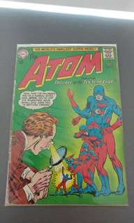 The Atom #11 DC silver age comic