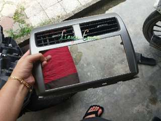 Myvi se icon 2017 Casing AIRCOND complete with AUDIO casing (Genuine parts)