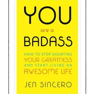 (Ebook) You Are a Badass®: How to Stop Doubting Your Greatness and Start Living an Awesome Life -  Jen Sincero
