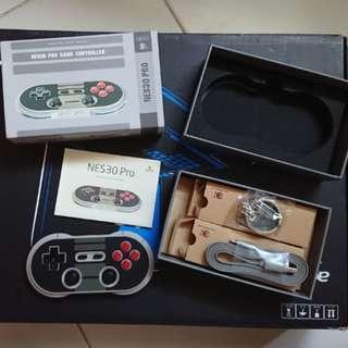 8bitdo NES30 pro bluetooth game controller
