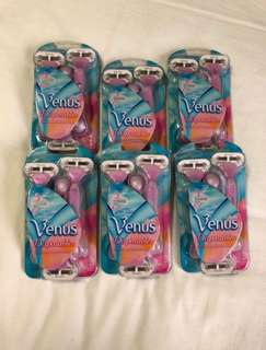 Gilette Venus Disposable Razors (18pcs)