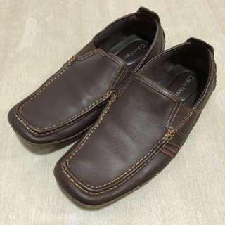 Calvin Klein Mully F0910 Men Brown Leather Loafter Size:9M