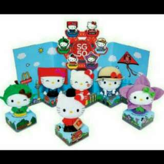 Hello Kitty Figurines
