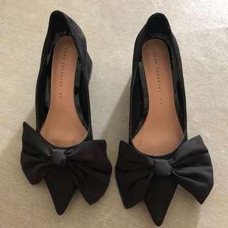 Zara Black Heels Size:35