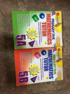 Math workbooks for P5- CASCO Publications