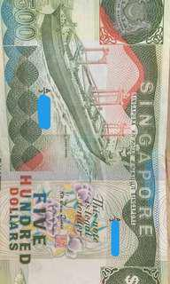 Ship Series $500 denomination