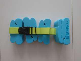 Swimming belt float