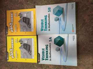 Math workbooks for P5