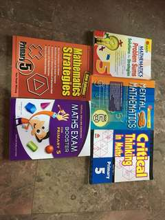 Mathematics books for P5