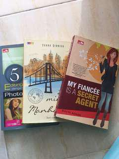novel my fiancee is a secret agent, last minute in manhattan