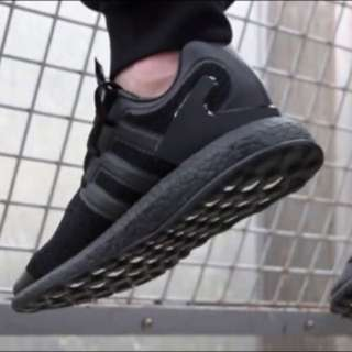 Y-3 x Adidas Pure Boost  Triple Black SZ SKU CP9890