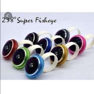 Super FishEye Lens 238 degrees