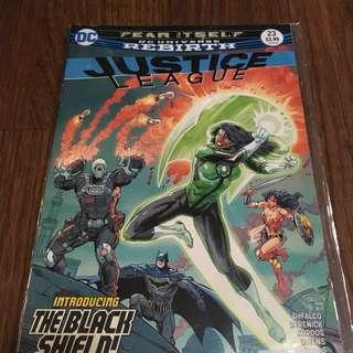 Justice League #23 - Fear Itself