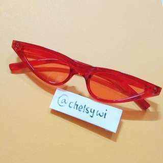 Cat eye sunglasses kacamata korea