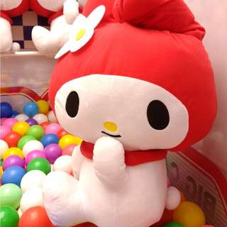 LAST PC - HUGE 57cm MY MELODY RED CLASSIC VERSION JAPAN
