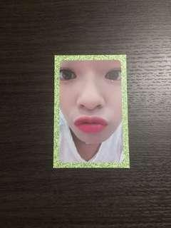 Twice jeongyeon 小卡