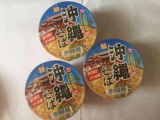 🚚 沖繩限定泡麵1組3小碗