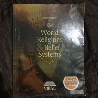 World Religions and Belief Systems (HUMSS SHS Specialized Subject)
