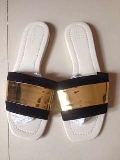 Gold SEED sandals