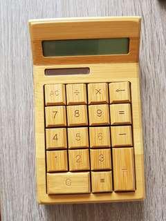 Bamboo wood calculator