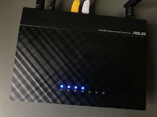 ASUS wireless-N High Power Router