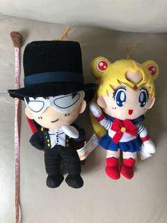 Sailor Moon 美少女戰士月野兔 禮服蒙面俠公仔