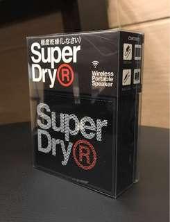 🚚 全新品 SuperDry藍芽喇叭
