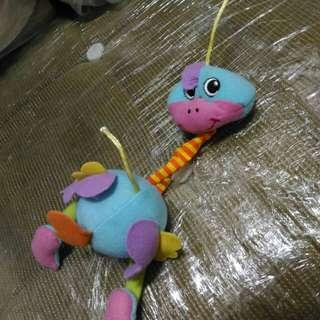 🚚 可愛嬰兒車小娃娃恐龍吊飾洗淨