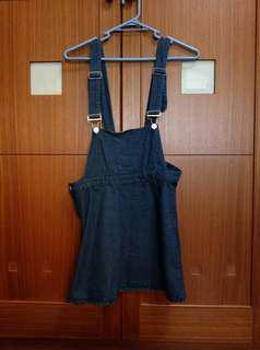 🚚 牛仔吊帶裙#十二月女裝半價