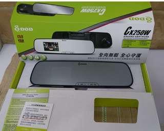🚚 DOD CX250W超薄後視鏡 行車記錄器
