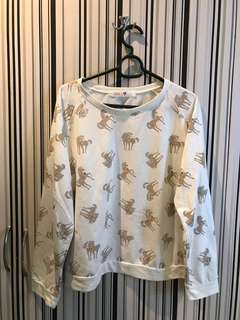 Next brand unicorn sweater size L