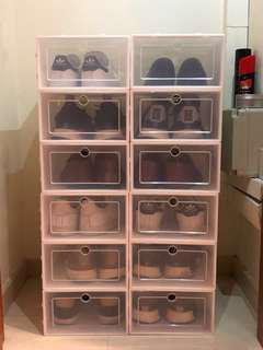 NMD white shoebox STORAGE adidas nike