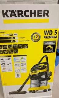 KARCHER WD5 PREMIUM WET & DRY VACUUM CLEANER 25L 1100W S/S