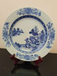 Old Chinese plate