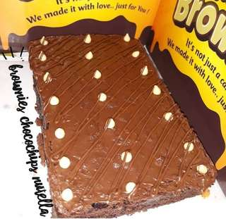 BROWNIES CHOCOCHIPS NUTELLA
