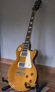 2013 Epiphone Les Paul  (GOLD TOP) (CUSTOM SHOP)