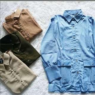 NEW Hamida pocket shirt