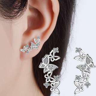 [3 for $10] X348 - Elegant butterfly earrings