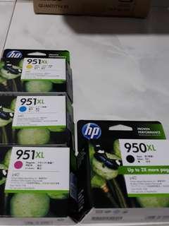 HP Printer Ink 950xl, 951xl