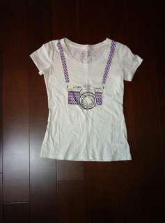 🚚 Caco相機T shirt#十一月女裝半價