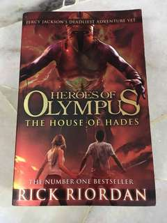 Heroes of Olympus - The House of Hades - Percy Jackson